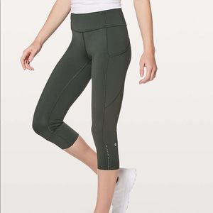 3afd30de4e lululemon athletica Pants - Lululemon Fast & Free Crop II *Nulux 19